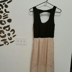 wet seal hi low midi dress